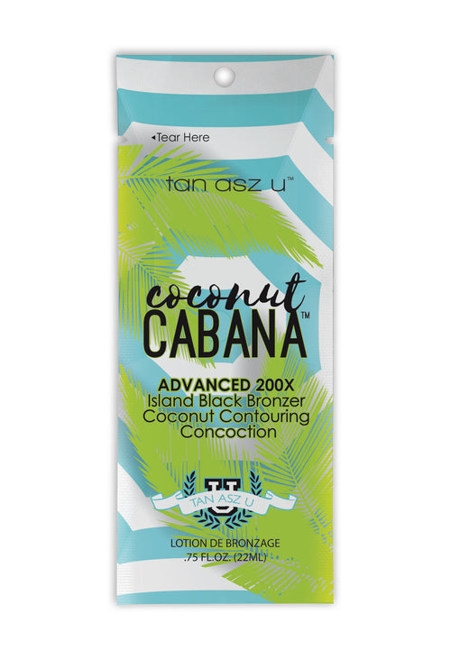 Coconut Cabana 22ml Advanced 200x Bronzer Sun Bed Cream - Ultimate Hair and Beauty