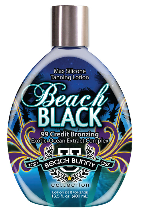 Beach  Black 400ml 99 Credit Bronzer Sunbed Cream - Ultimate Hair and Beauty