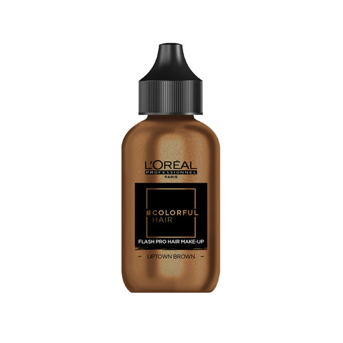 L'Oreal Colorful Hair Flash Pro Hair Make-up - Uptown Brown - Ultimate Hair and Beauty