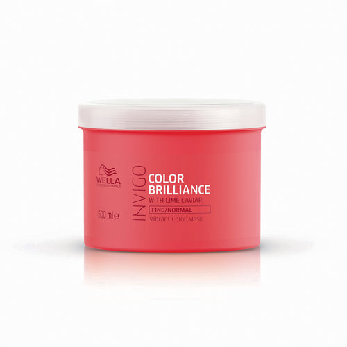 Wella INVIGO Color Brilliance Vibrant Color Mask - Fine (500ml) - Ultimate Hair and Beauty