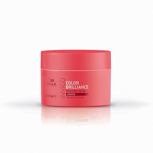 Wella INVIGO Color Brilliance Vibrant Color Mask - Coarse (150ml) - Ultimate Hair and Beauty