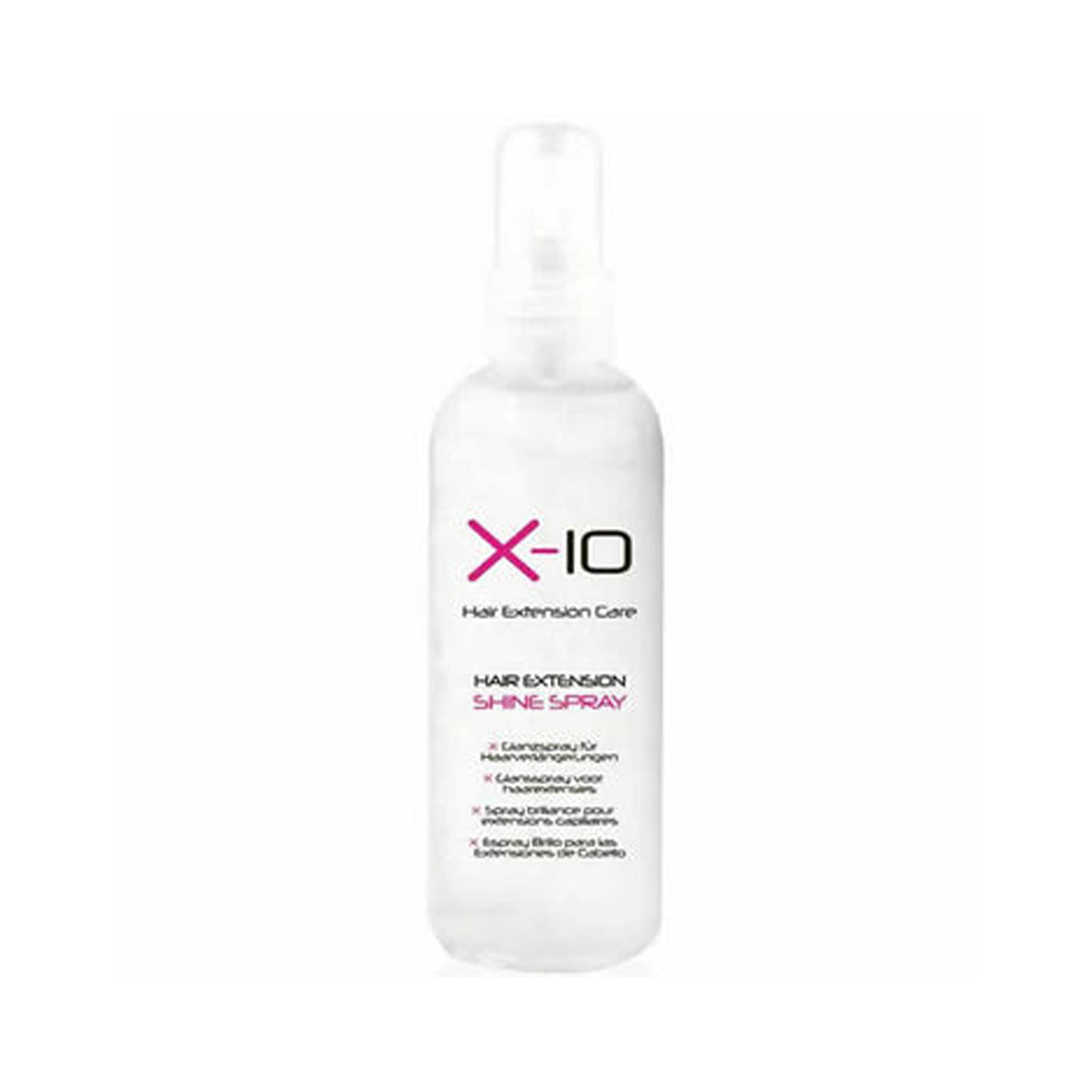 X 10 Hair Extension Care Shine Spray 125ml Ultimate Hair And Beauty