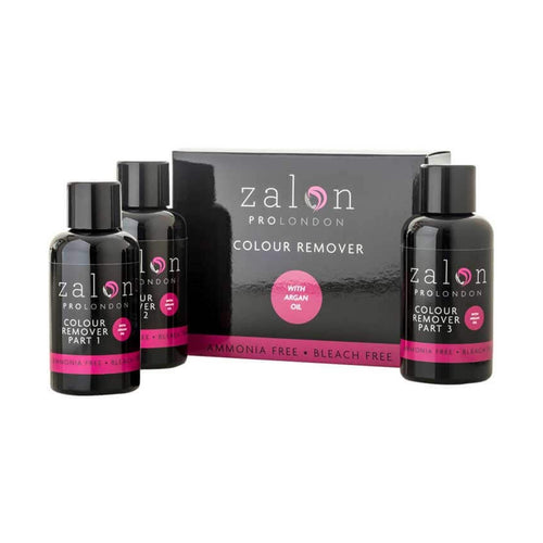 Zalon Pro London Colour Remover Single Application Kit (3 X 50ml) - Ultimate Hair and Beauty