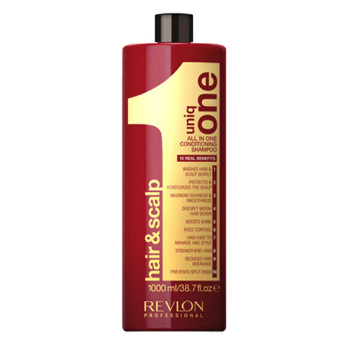 Revlon Uniq One All in One Conditioning Shampoo (1000ml) - Ultimate Hair and Beauty