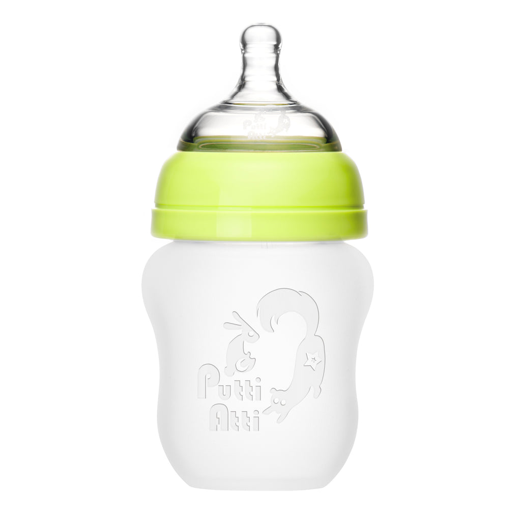 Silicone Baby Bottle (5.5 oz / 8.8 oz)