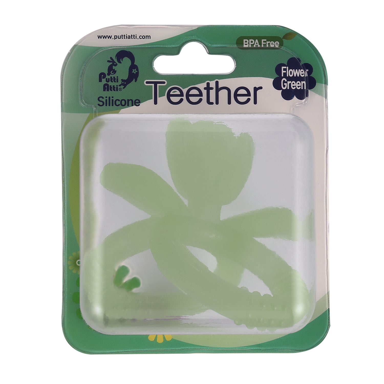 Teether (1ea/pack) Flower