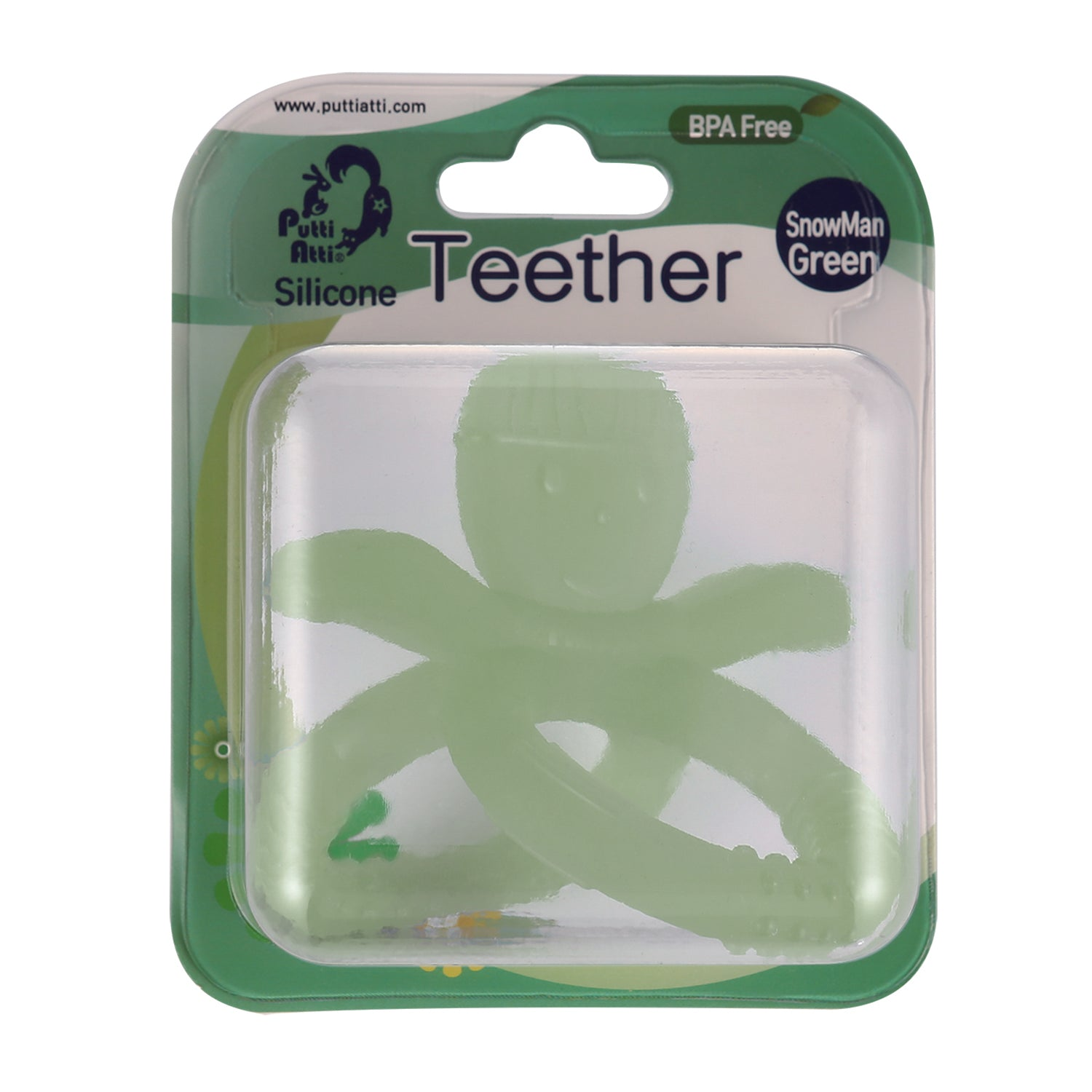 Teether (1ea/pack) Snowman