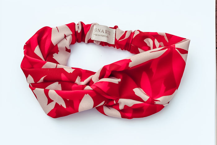 Red Blossom Headband - Monarte