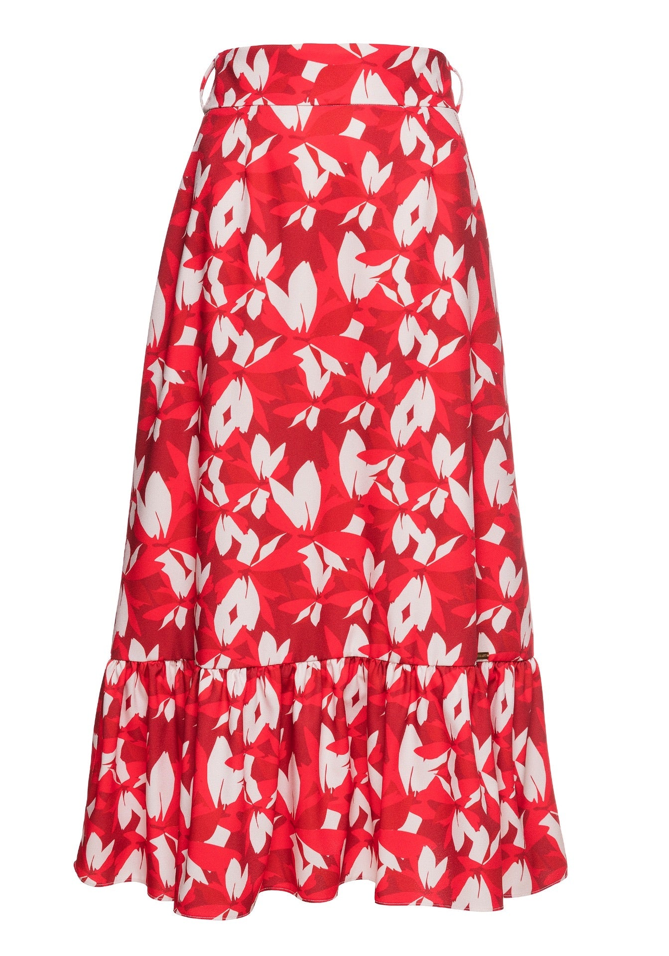 Red Blossom Skirt - Monarte