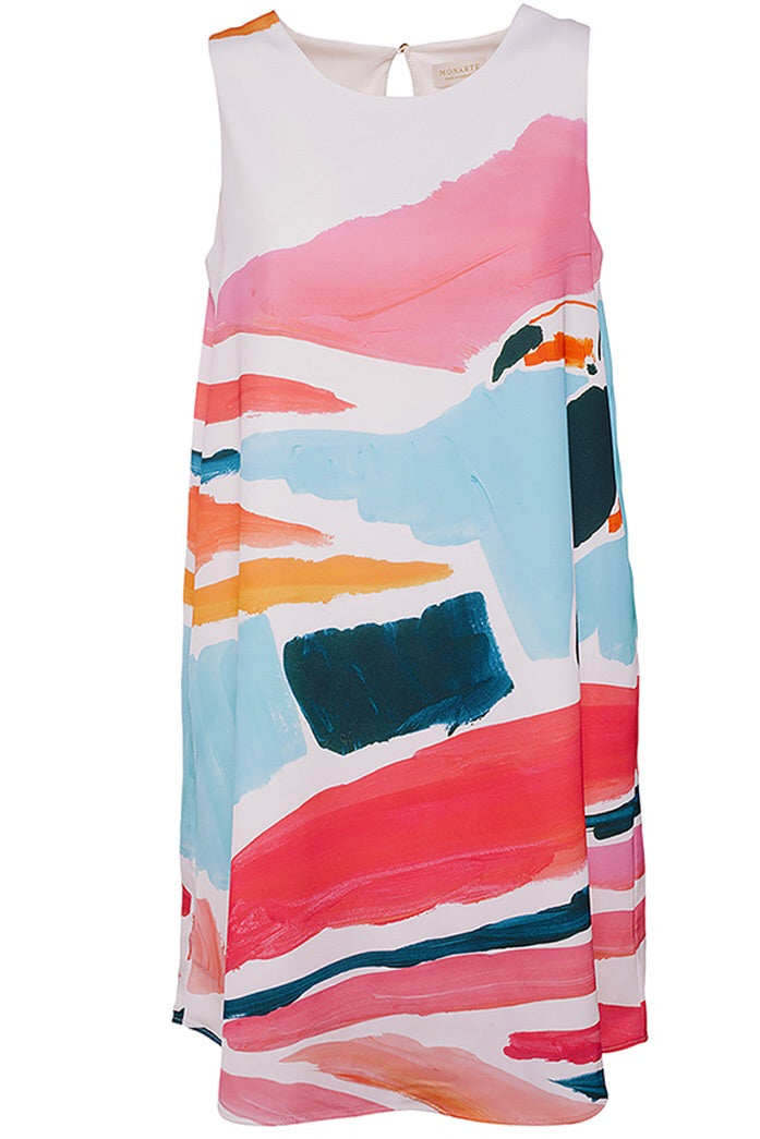 Tropical Memories Dress - Monarte