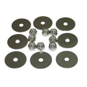 10-32 Nyloc Nut/Washer Kit,HMP Kayak and Canoe Hardware - HMP-1032NUW - Cedar Creek Outdoor Center