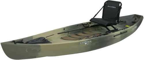 2020  NuCanoe Frontier 12 Kayak with Fusion 360 Seat - Ultimate Fishing Kayak - Cedar Creek Outdoor Center