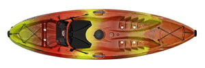 2021 Perception Tribe 9.5 Recreation Sit-on-Top Kayak - Cedar Creek Outdoor Center