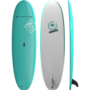 "Boardworks 9'0"" Minnow Soft Top Stand Up Paddleboard/SUP All Around (Free Shipping) - Cedar Creek Outdoor Center"