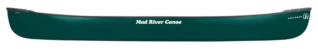 Mad River Explorer T-Formex 16 Lightweight and Durable Canoe - Cedar Creek Outdoor Center