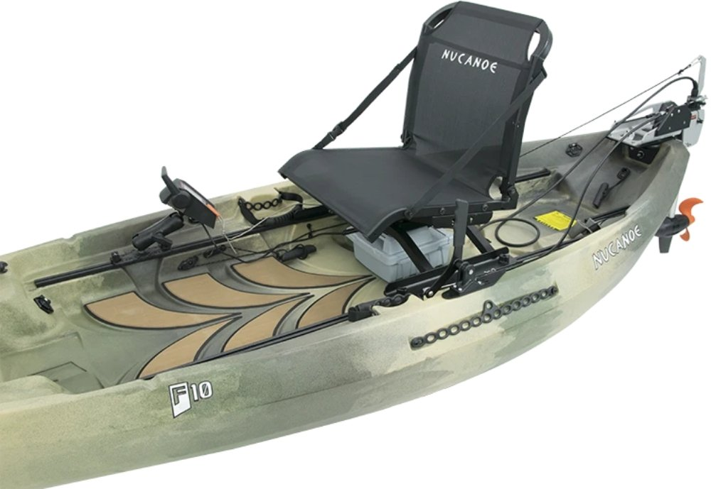 NuCanoe - Torqeedo Kit F10 - 1710 - Cedar Creek Outdoor Center