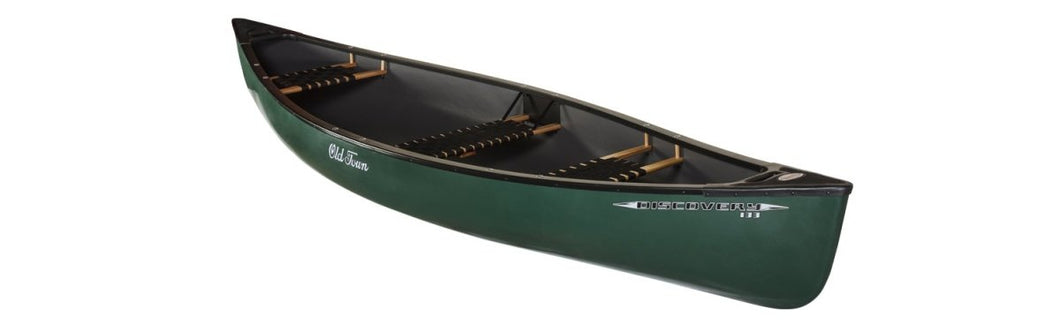 Old Town Discovery 133 Super Stable Canoe - Cedar Creek Outdoor Center