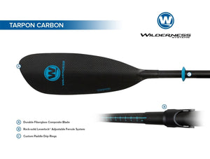 Paddle -Wilderness Tarpon Carbon - Cedar Creek Outdoor Center