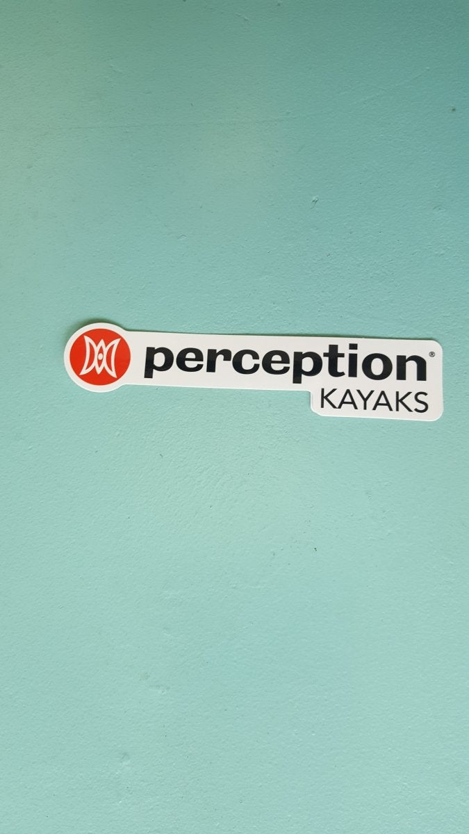 Perception Sticker 6.7in x 1.6 - 1050849 - Cedar Creek Outdoor Center