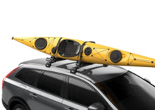 Thule Hull-A-Port Aero Deluxe J-Style Kayak Rack T-slot install - Cedar Creek Outdoor Center