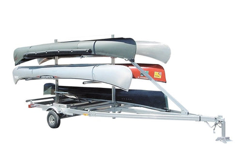 Trailex - 6 Canoe Trailer - UT-1000-6-04 - Cedar Creek Outdoor Center