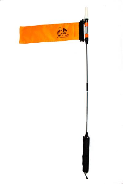 Yakattack VisiCarbon Pro Kayak Flag and Kayak Light - CPM - Cedar Creek Outdoor Center