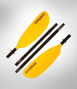 Werner Paddle Skagit FG IM 4 Piece Kayak Paddle - Great Travel - Fit in luggage - Cedar Creek Outdoor Center