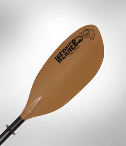 Werner Paddles Tybee IM FG (Carbon Shaft) Kayak Paddle 2Pc - Cedar Creek Outdoor Center