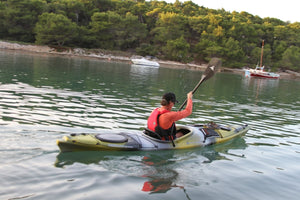 Wilderness Systems Tsunami 165 W/ Rudder Comfort Touring/Sea Kayak - Cedar Creek Outdoor Center
