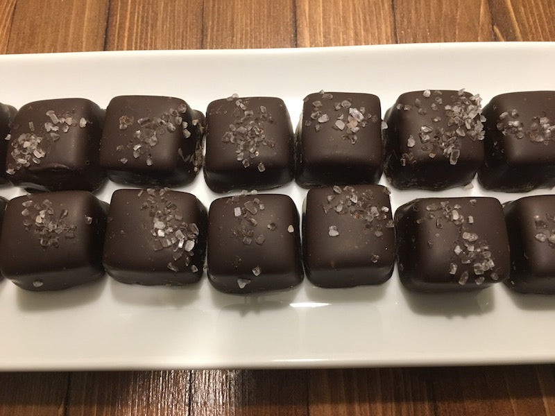 Salted Dark Chocolate Caramel