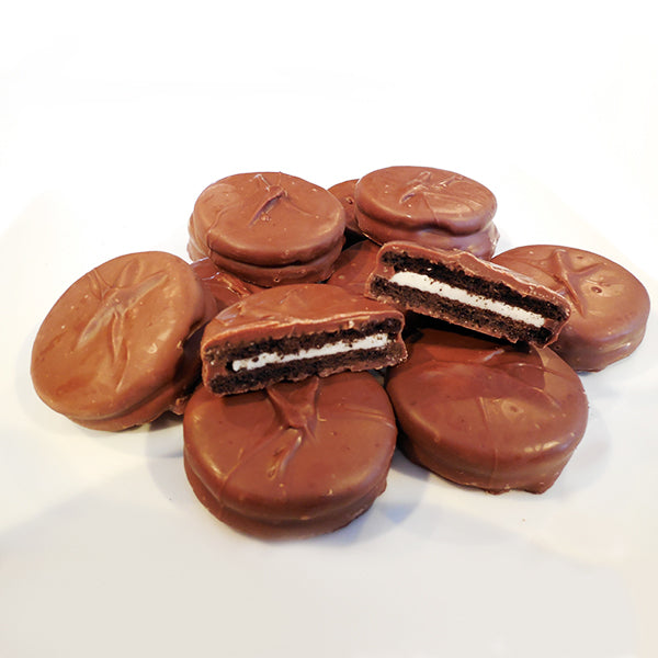 Chocolate Dipped Sandwich Cookies