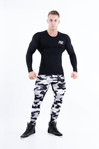 Nebbia - AW Long Sleeve - Black - Gesamt