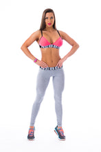 Nebbia - Scrunch Butt Leggings - Light Grey (222) - Vorderseite 1