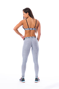 Nebbia - Scrunch Butt Leggings - Light Grey (222) - Rückseite