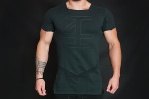 4Invictus - Evolve Shirt - Blackout - Vorderseite