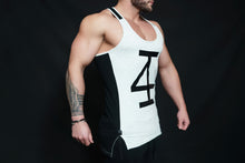 4Invictus - KANO Stringer – Light Grey & Black - Seitlich