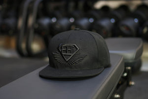 Body Engineers - BE Snapback Cap - Black on Black