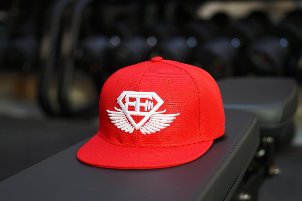 Body Engineers - BE Snapback Cap – Flame Red