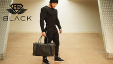 Body Engineers - BE Black - Premium Leather Lifestyle Bag - Ansicht