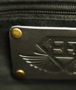 Body Engineers - BE Black - Premium Leather Lifestyle Bag - Detail