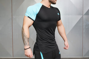 Body Engineers - ANAX Performance Shirt – Sky Blue - Seitlich
