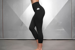 Body Engineers - Basic Infinity Leggings – Black Out - Seitlich