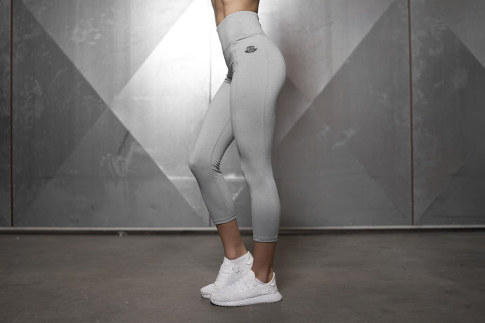 Body Engineers - Basic Infinity Leggings – Light Grey - Seitlich