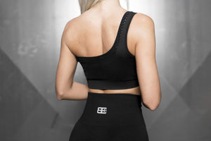 Body Engineers - Motus Seamless Bra - Black Out - Rückseite