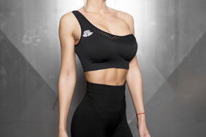 Body Engineers - Motus Seamless Bra - Black Out - Vorderseite 2