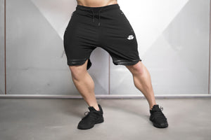 Body Engineers - NOX Prometheus Shorts – Black - Vorderseite