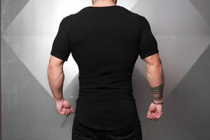 Body Engineers - Neri Prometheus Shirt – Black on Black - Rückseite