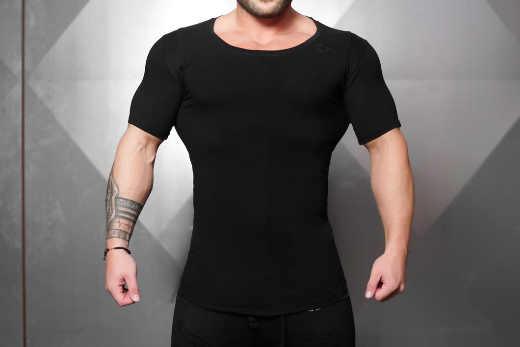 Body Engineers - Neri Prometheus Shirt – Black on Black - Vorderseite