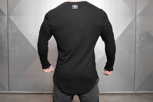Body Engineers - OBLIQUE Prometheus Long Sleeve – Black Out - Rückseite