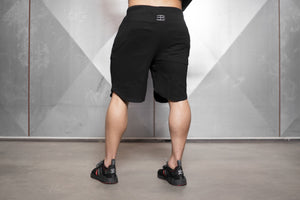Body Engineers - OBLIQUE Prometheus Shorts – Black Out - Rückseite